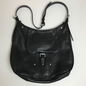 LONGCHAMP Balzane crossbody bag leather black